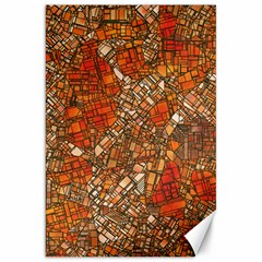 Fantasy City Maps 3 Canvas 20  X 30   by MoreColorsinLife