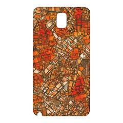 Fantasy City Maps 3 Samsung Galaxy Note 3 N9005 Hardshell Back Case by MoreColorsinLife