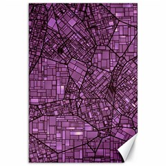 Fantasy City Maps 4 Canvas 12  X 18   by MoreColorsinLife