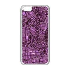 Fantasy City Maps 4 Apple Iphone 5c Seamless Case (white)