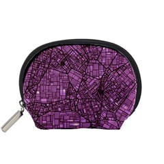Fantasy City Maps 4 Accessory Pouches (small)  by MoreColorsinLife