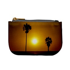 Sunset Scene At The Coast Of Montevideo Uruguay Mini Coin Purses by dflcprints
