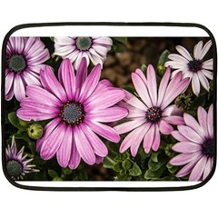 Beautiful Colourful African Daisies  Fleece Blanket (mini) by OZMedia