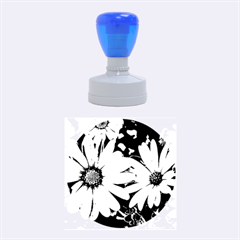 Beautiful Colourful African Daisies  Rubber Round Stamps (medium)