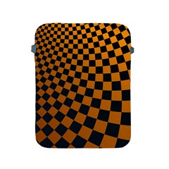 Abstract Square Checkers  Apple Ipad 2/3/4 Protective Soft Cases
