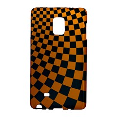 Abstract Square Checkers  Galaxy Note Edge by OZMedia