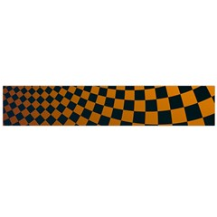 Abstract Square Checkers  Flano Scarf (large)  by OZMedia