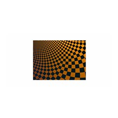 Abstract Square Checkers  Satin Wrap by OZMedia