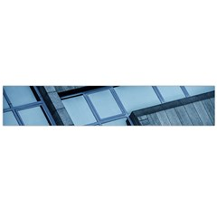 Abstract View Of Modern Buildings Flano Scarf (large)  by OZMedia