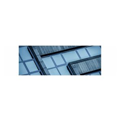 Abstract View Of Modern Buildings Satin Scarf (oblong) by OZMedia