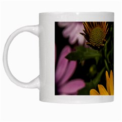 Beautiful Colourful African Daisies  White Mugs by OZMedia