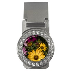 Beautiful Colourful African Daisies  Money Clips (cz)  by OZMedia