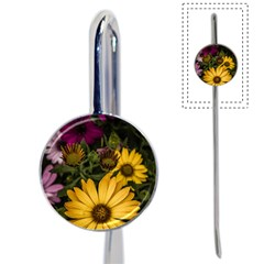 Beautiful Colourful African Daisies  Book Mark by OZMedia