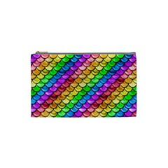 Rainbow Scales Cosmetic Bag (small)