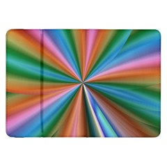 Abstract Rainbow Samsung Galaxy Tab 8 9  P7300 Flip Case by OZMedia