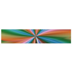 Abstract Rainbow Flano Scarf (small)  by OZMedia