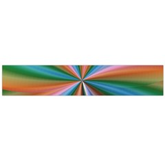 Abstract Rainbow Flano Scarf (large)  by OZMedia