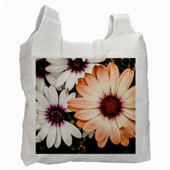 Beautiful Colourful African Daisies Recycle Bag (two Side)  by OZMedia