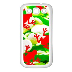 Box Of Frogs  Samsung Galaxy S3 Back Case (white) by essentialimage