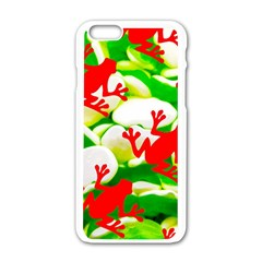 Box Of Frogs  Apple Iphone 6/6s White Enamel Case
