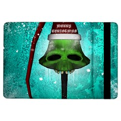 I Wish You A Merry Christmas, Funny Skull Mushrooms Ipad Air Flip by FantasyWorld7
