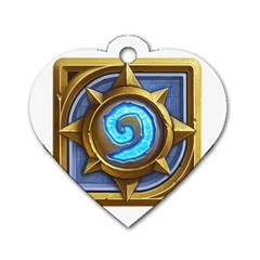 Hearthstone Update New Features Appicon 110715 Dog Tag Heart (one Side) by HearthstoneFunny