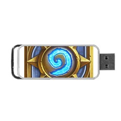 Hearthstone Update New Features Appicon 110715 Portable Usb Flash (two Sides) by HearthstoneFunny