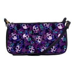 Flowers And Skulls Evening Bag by Ellador