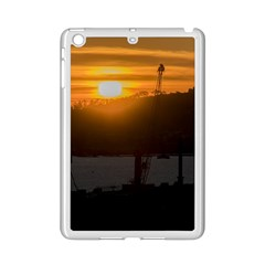 Aerial View Sunset Scene Of Montevideo Uruguay Ipad Mini 2 Enamel Coated Cases by dflcprints