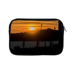 Aerial View Sunset Scene Of Montevideo Uruguay Apple Ipad Mini Zipper Cases by dflcprints