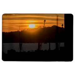Aerial View Sunset Scene Of Montevideo Uruguay Ipad Air 2 Flip by dflcprints
