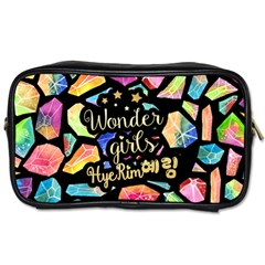 Wondergirls(hye Rim) Travel Toiletry Bag (one Side) by walala