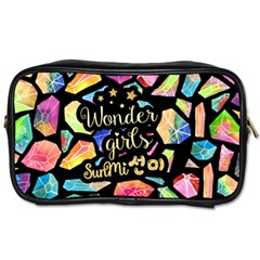 Wondergirls(sunmi) Travel Toiletry Bag (one Side) by walala