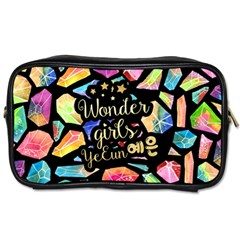 Wondergirls(yeeun) Travel Toiletry Bag (one Side) by walala