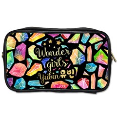 Wondergirls(yubin) Travel Toiletry Bag (one Side) by walala