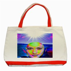 Sunshine Illumination Classic Tote Bag (red)  by icarusismartdesigns