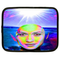 Sunshine Illumination Netbook Case (xxl)  by icarusismartdesigns