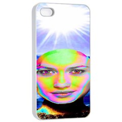 Sunshine Illumination Apple Iphone 4/4s Seamless Case (white) by icarusismartdesigns