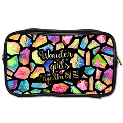 Wondergirls(hye Rim) Travel Toiletry Bag (two Sides)