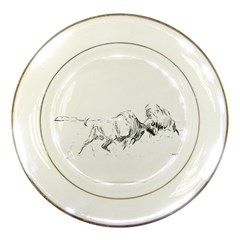 Buffalo / Bison Gift Porcelain Plate