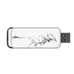 When Titans Collide 5x7 Portable Usb Flash (one Side)