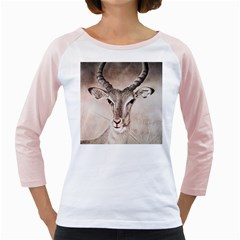 Antelope Horns Girly Raglans by TwoFriendsGallery
