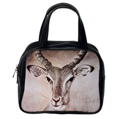 Antelope Horns Classic Handbags (one Side) by TwoFriendsGallery