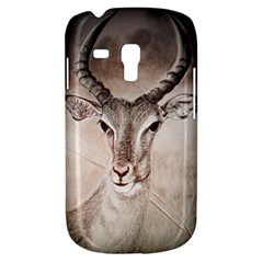 Antelope Horns Samsung Galaxy S3 Mini I8190 Hardshell Case by TwoFriendsGallery