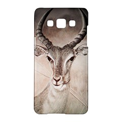 Antelope Horns Samsung Galaxy A5 Hardshell Case  by TwoFriendsGallery