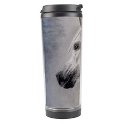 Grey Arabian Horse Travel Tumblers by TwoFriendsGallery