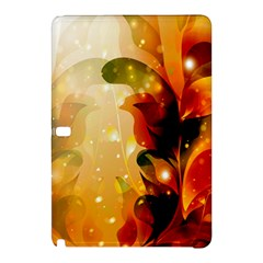 Awesome Colorful, Glowing Leaves  Samsung Galaxy Tab Pro 10 1 Hardshell Case by FantasyWorld7