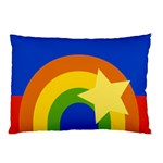Rainbow Pillow Case (Two Sides) Front