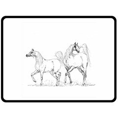 Logosquare Double Sided Fleece Blanket (large)  by TwoFriendsGallery