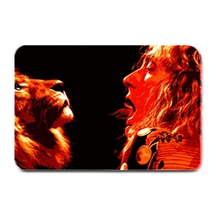 Robert And The Lion Plate Mats by SaraThePixelPixie